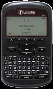 Turning Technologies QT2 clicker